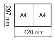 Буклеты А3 до А4 - малые тиражи